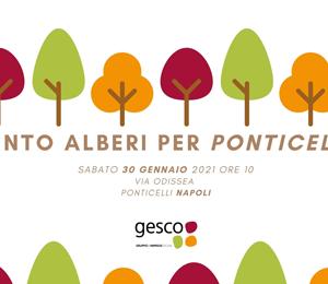 Cento alberi per Ponticelli: Gesco porta in periferia la campagna Adotta uno spazio verde
