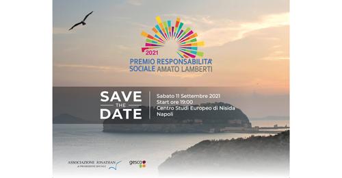 """Premio Responsabilità Sociale """"Amato Lamberti"""": ecco l'edizione 2021"""
